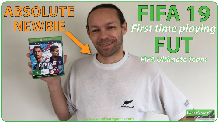 FIFA 19 – First time playing FUT – Absolute NEWBIE
