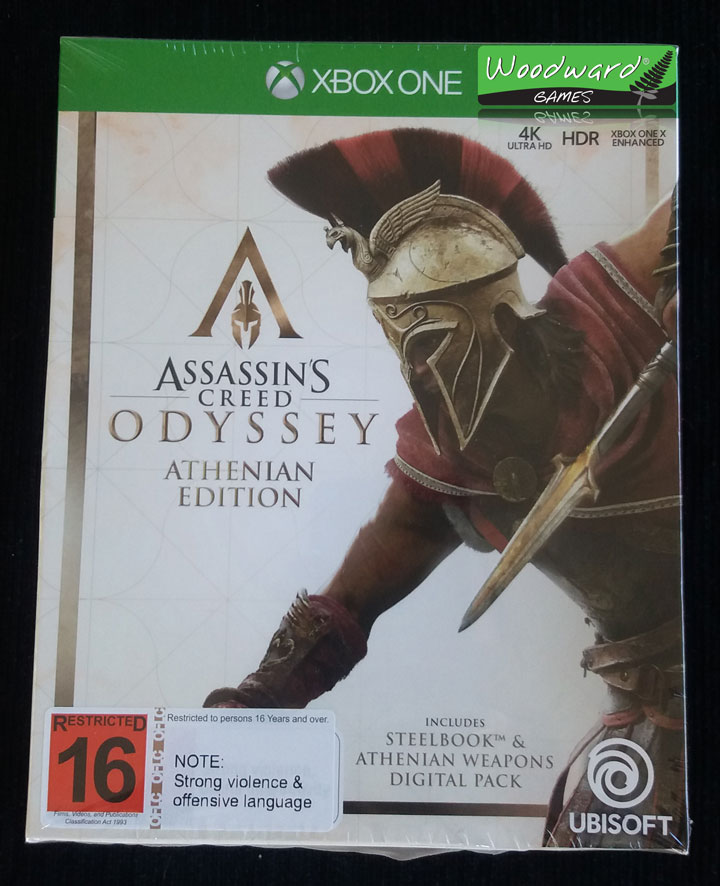 Assassin's Creed Odyssey – Athenian Edition – Unboxing