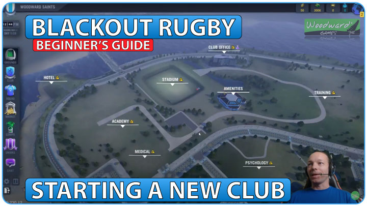 Blackout Rugby Beginner's guide to starting a new club - Tutorial